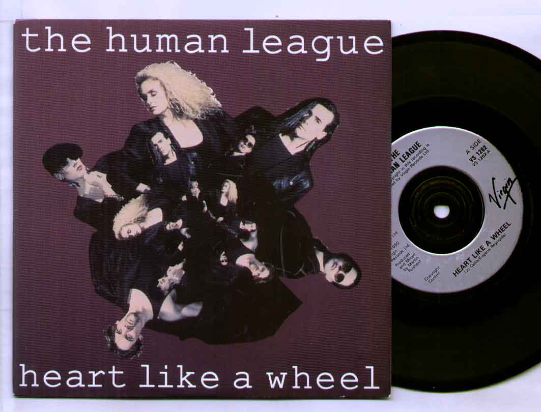 Human League Heart+Like+A+Wheel 7''