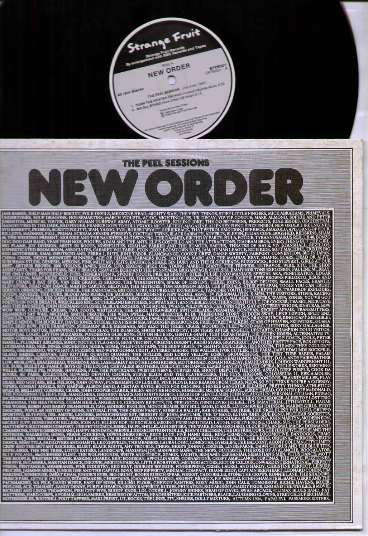 New Order - Peel Sessions LP