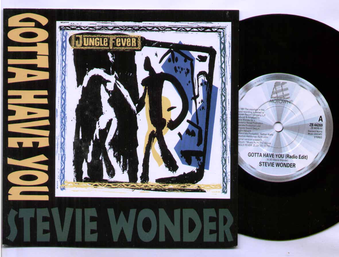 Stevie Wonder - Gotta Have You Record