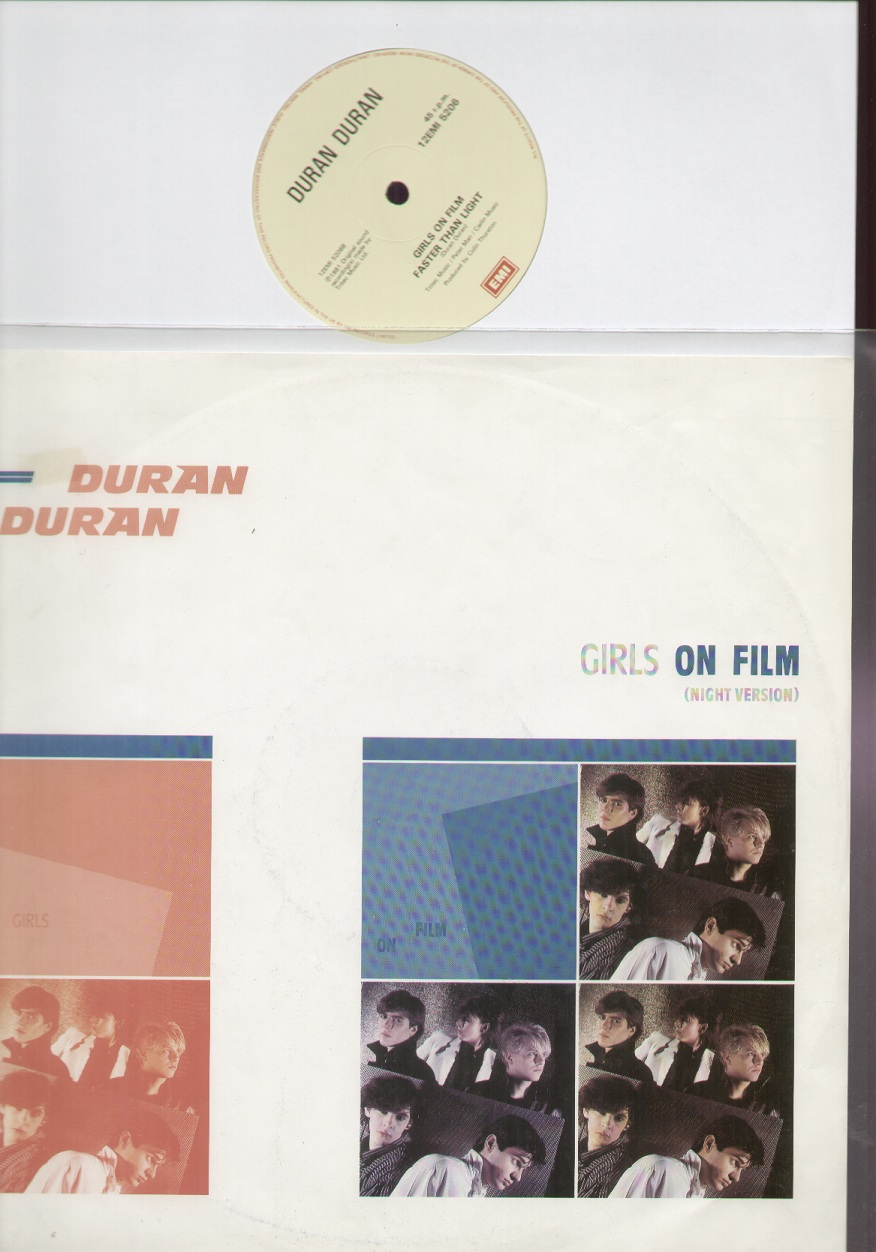 DURAN DURAN - Girls On Film The Remixes (12 Inch Us)