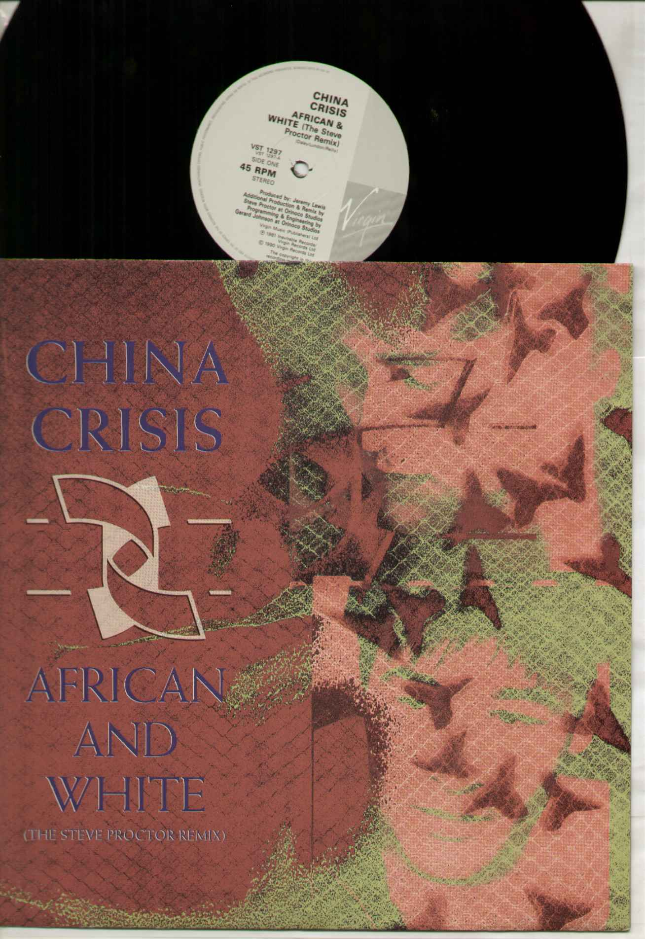 China Crisis African+And+White 12''