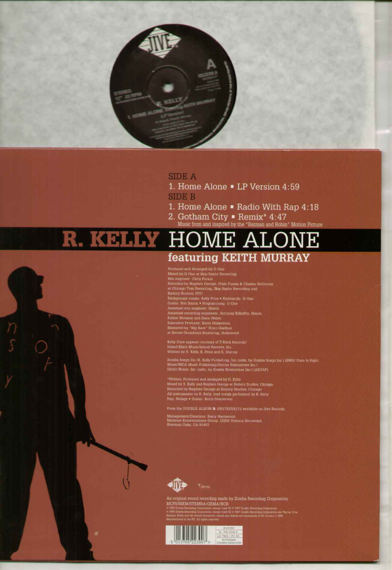 R. Kelly Home Alone Records, Vinyl and CDs - Hard to Find ...