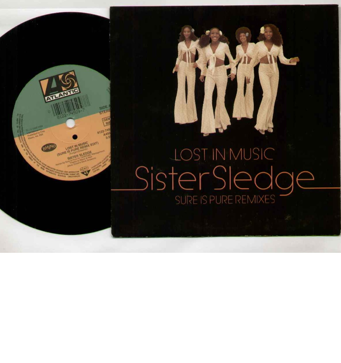 Sister Sledge Lost+In+Music 7''