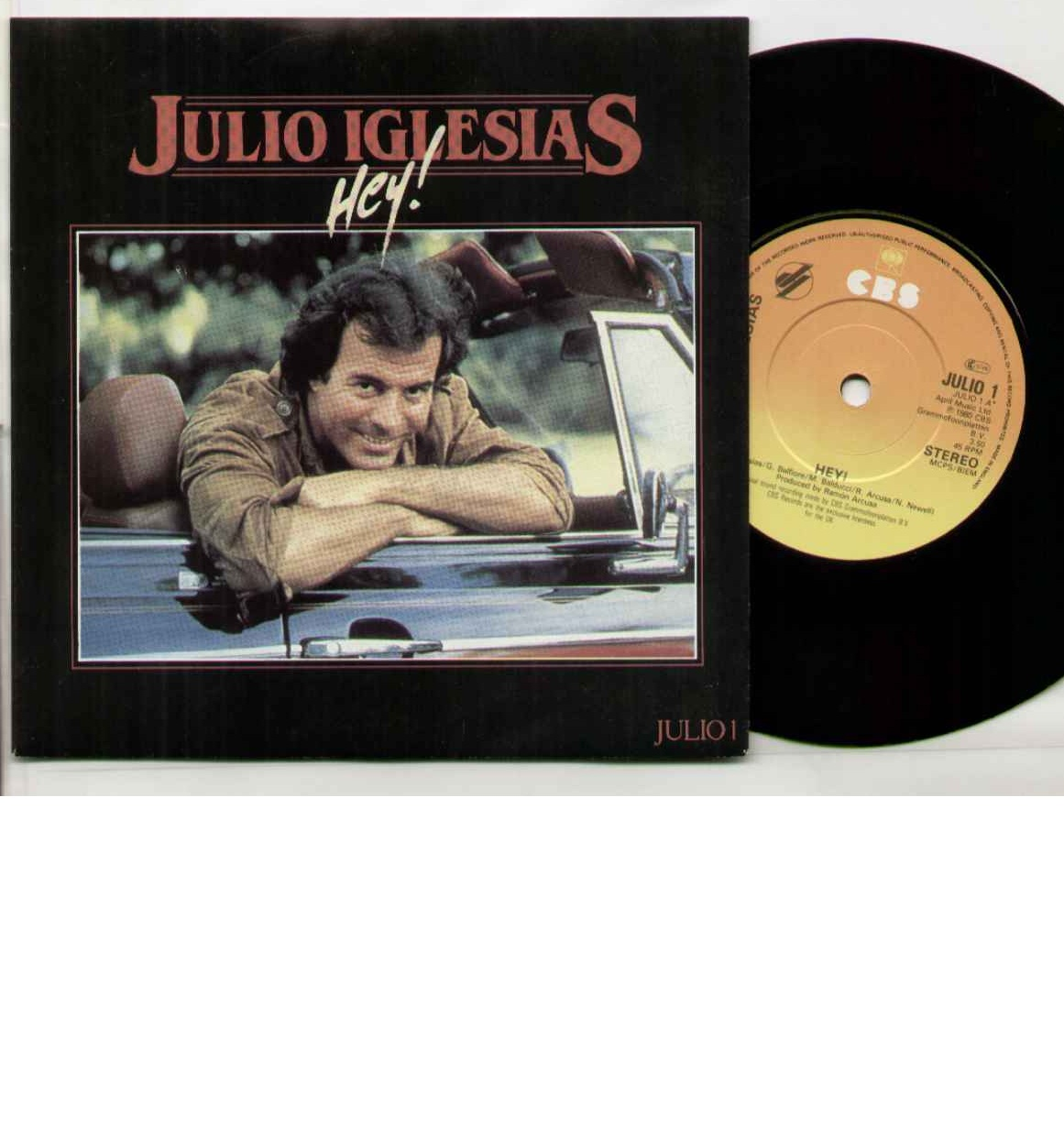 Julio Iglesias Hey 7''