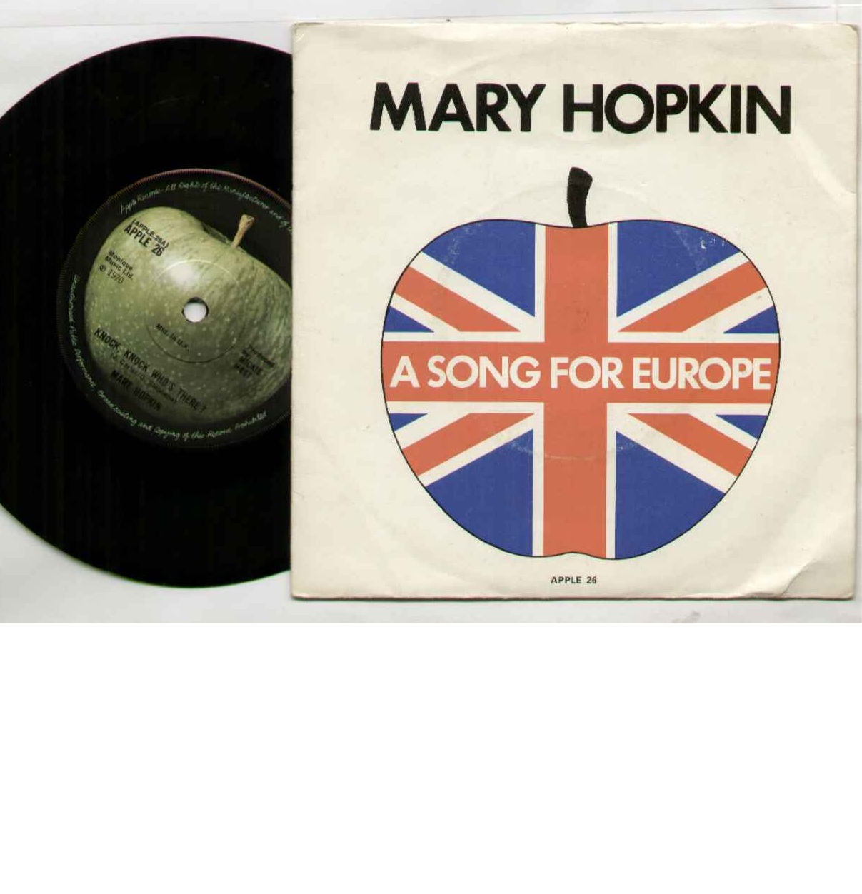 Mary Hopkin Knock+Knock+Who's+There 7''