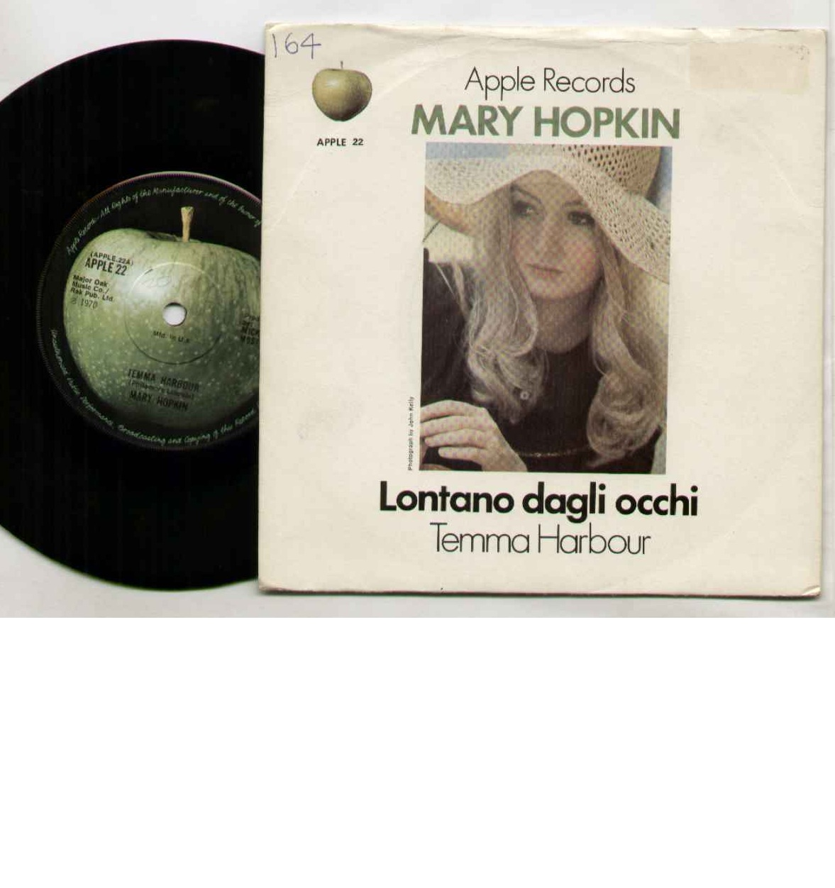 Mary Hopkin Temma+Harbour 7''