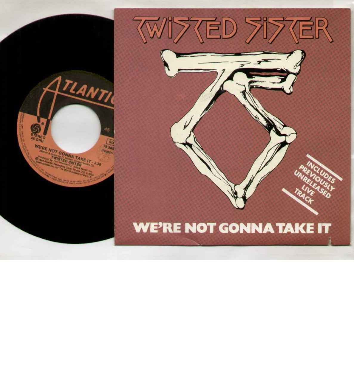 Twisted Sister We're+Not+Gonna+Take+It 7''