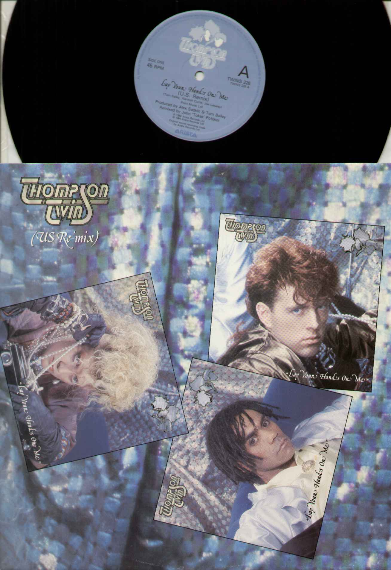 Thompson Twins Lay+Your+Hands+On+Me 12''