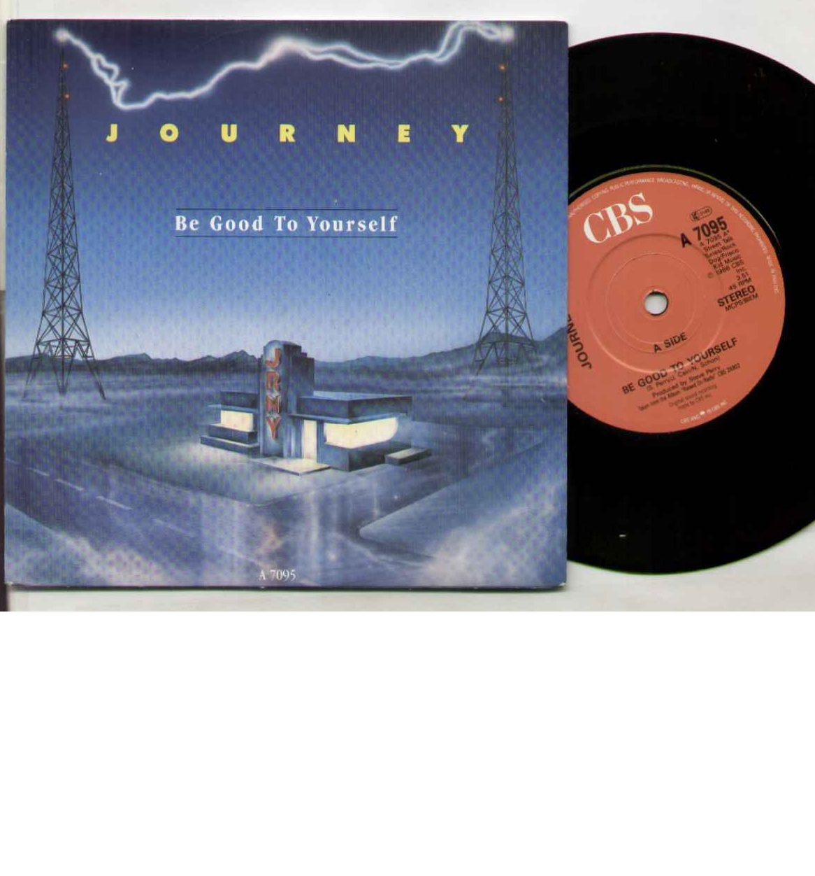 Journey - Be Good To Yourself Record