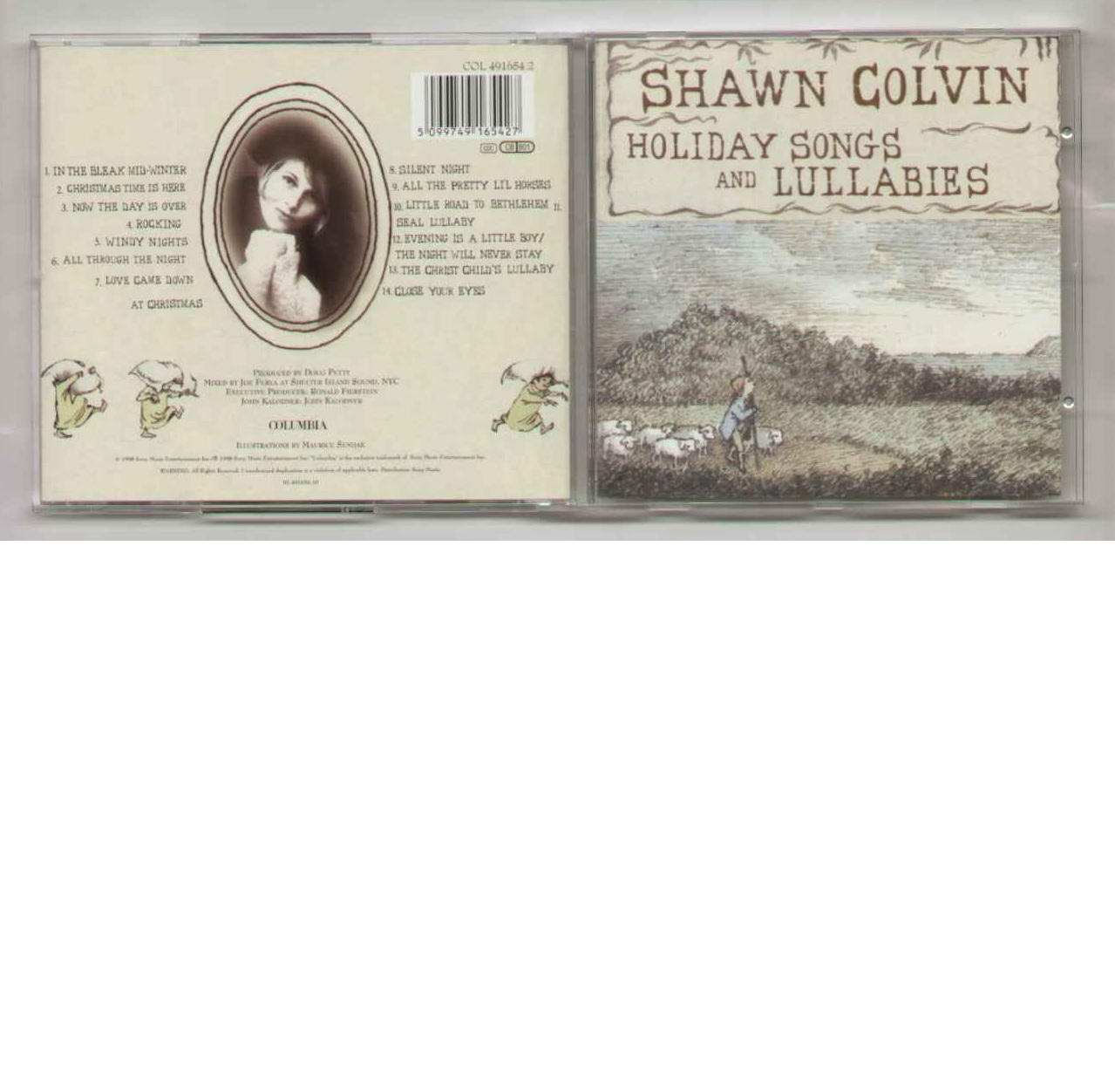 Shawn Colvin Holiday+Songs+And+Lullabies CD