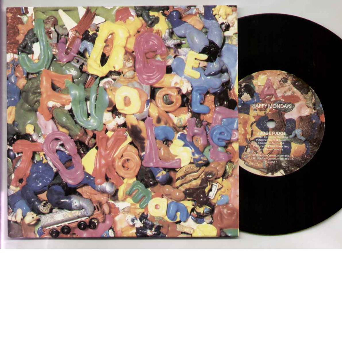 Happy Mondays Judge+Fudge 7''