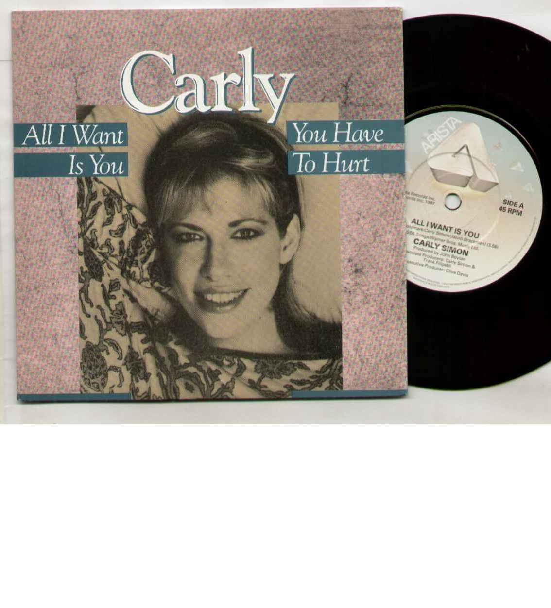 Carly Simon All+I+Want+Is+You 7''