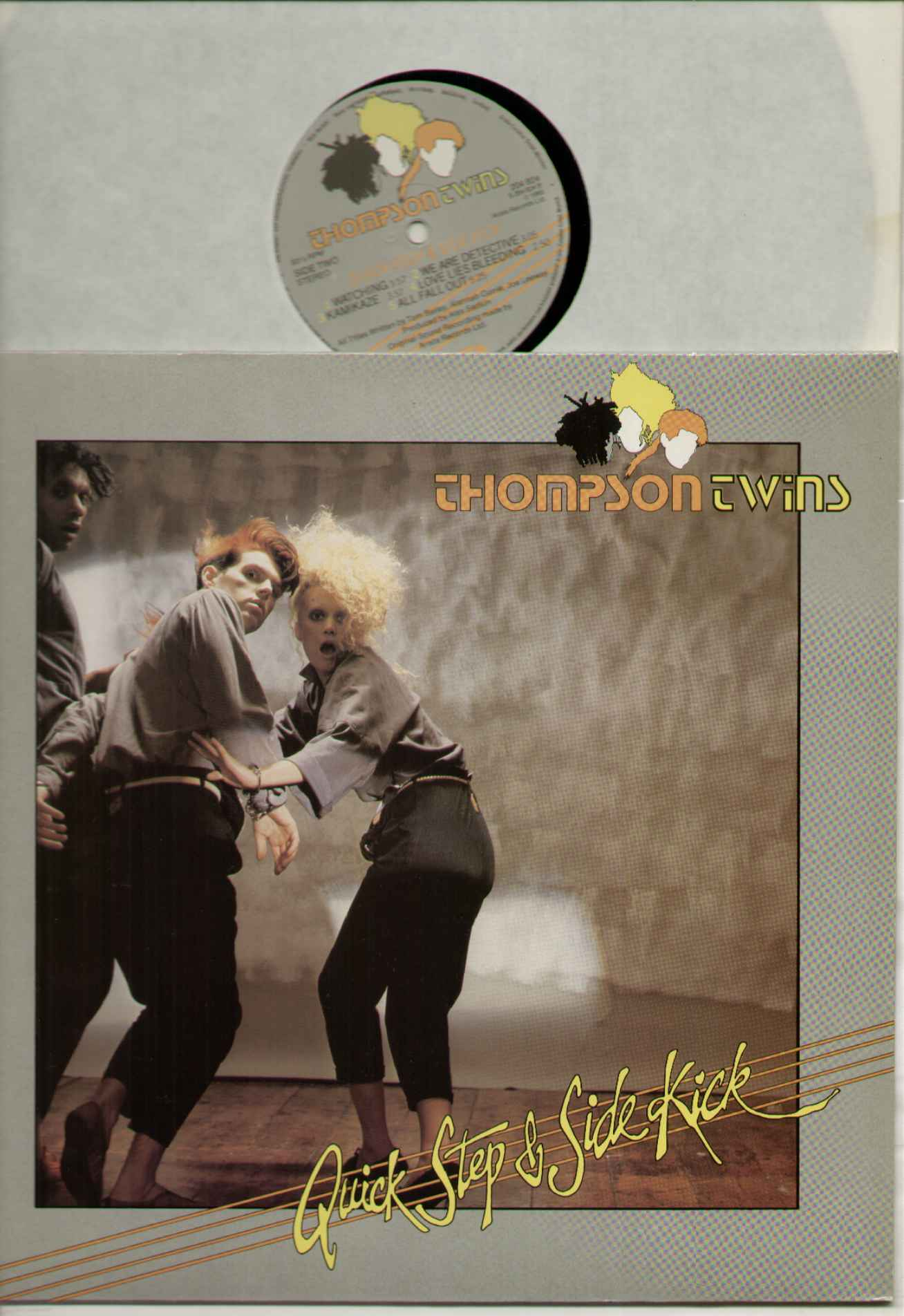 Thompson Twins Quick+Step+And+Side+Kick LP