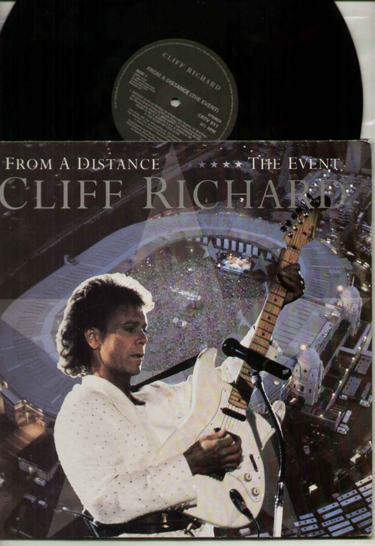 Cliff Richard From+A+Distance+The+Event LP