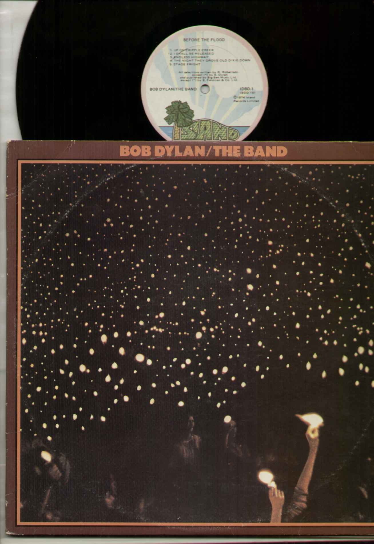 Bob Dylan - Before The Flood CD