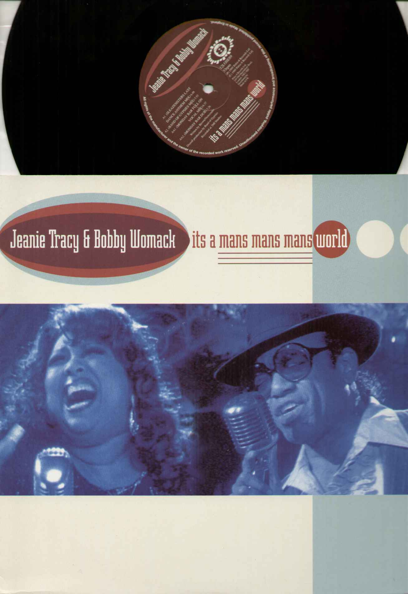 Jeanie Tracy And Bobby Womack It's+A+Mans+Mans+Mans+World 12''