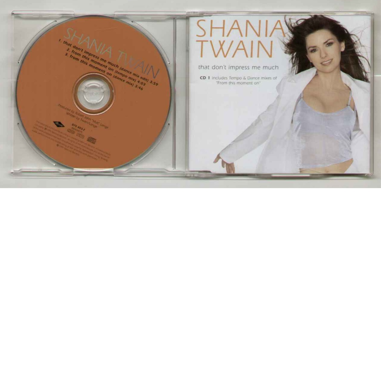 Shania Twain That Don't Impress Me Much CD