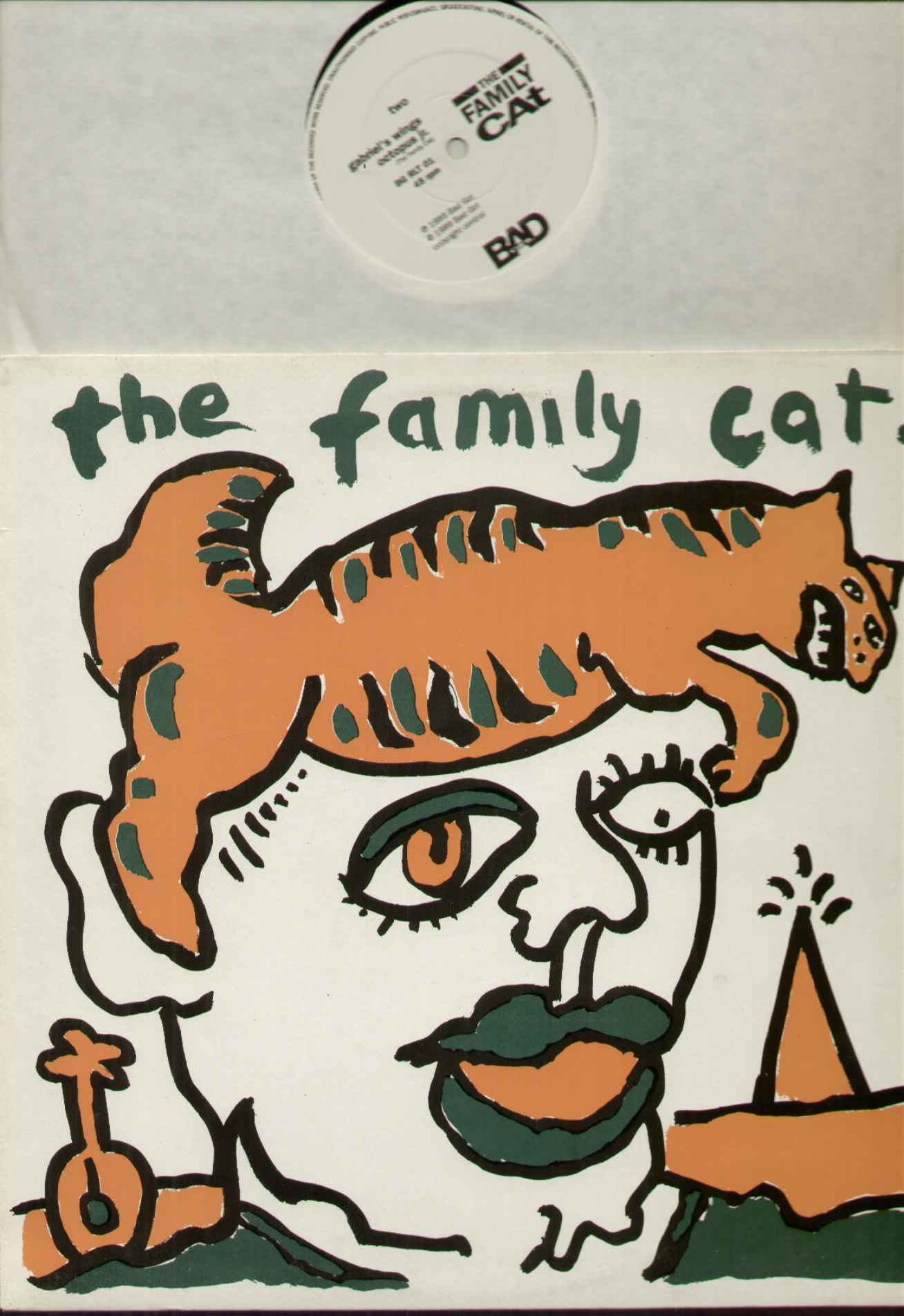 Family Cat Tom+Verlaine 12''