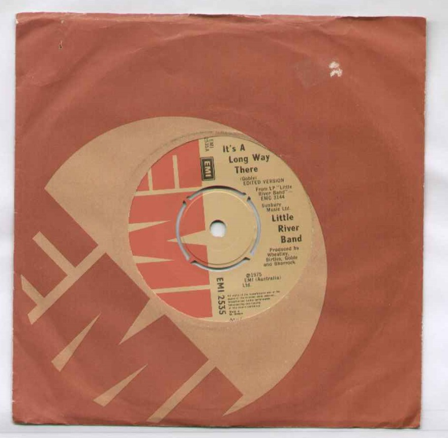 Little River Band It's+A+Long+Way+There 7''