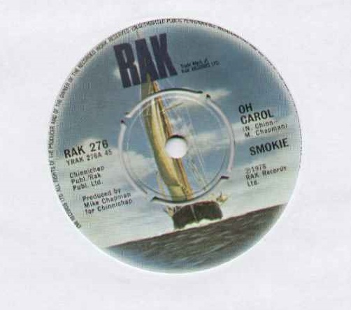 Smokie Oh+Carol 7''
