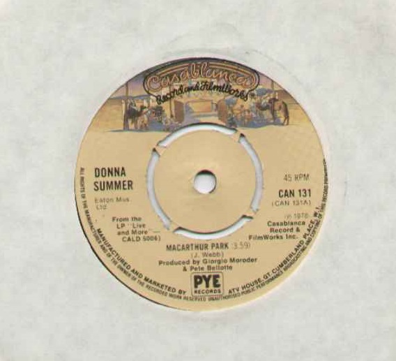 DONNA SUMMER - Macarthur Park Single