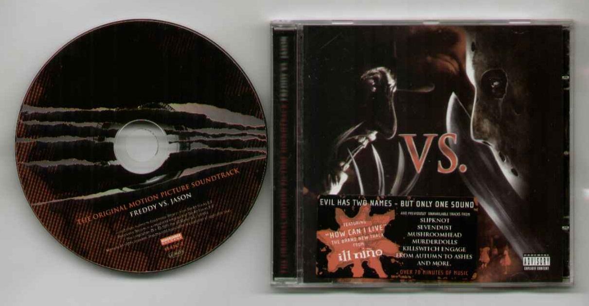 FREDDY VS JASON - FREDDY VS JASON SOUNDTRACK - CD