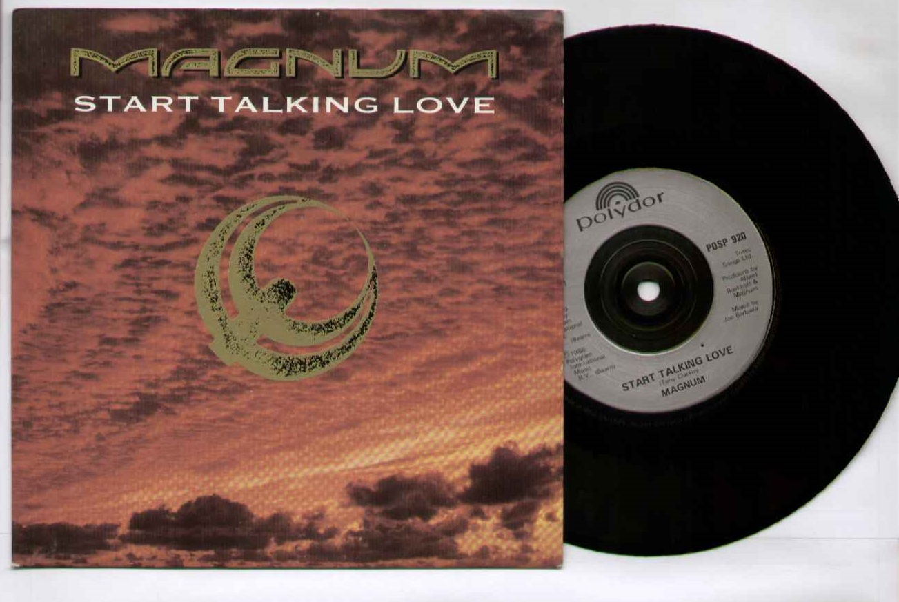 MAGNUM - Start Talking Love LP