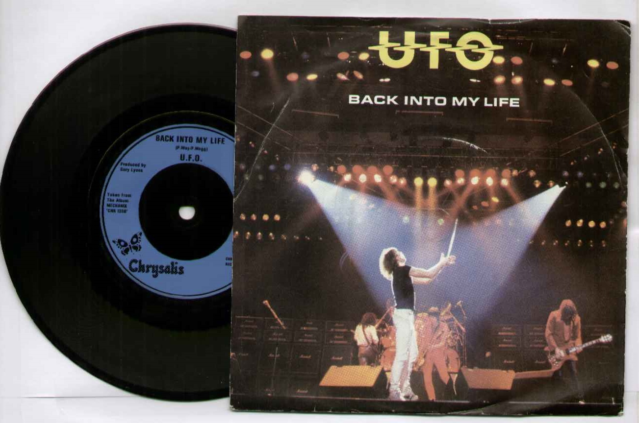 Ufo Back+Into+My+Life 7''