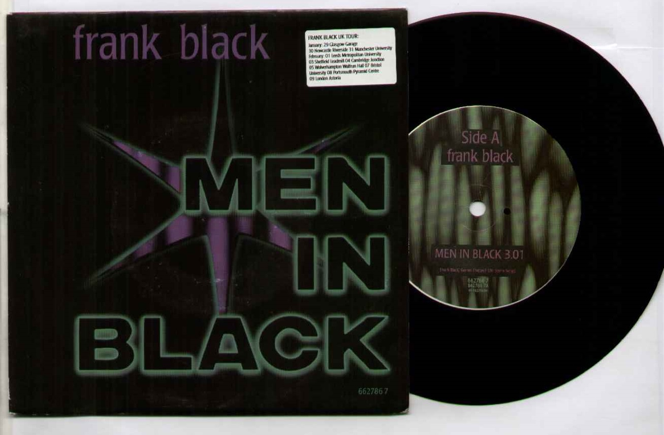 Frank Black Men+In+Black 7''