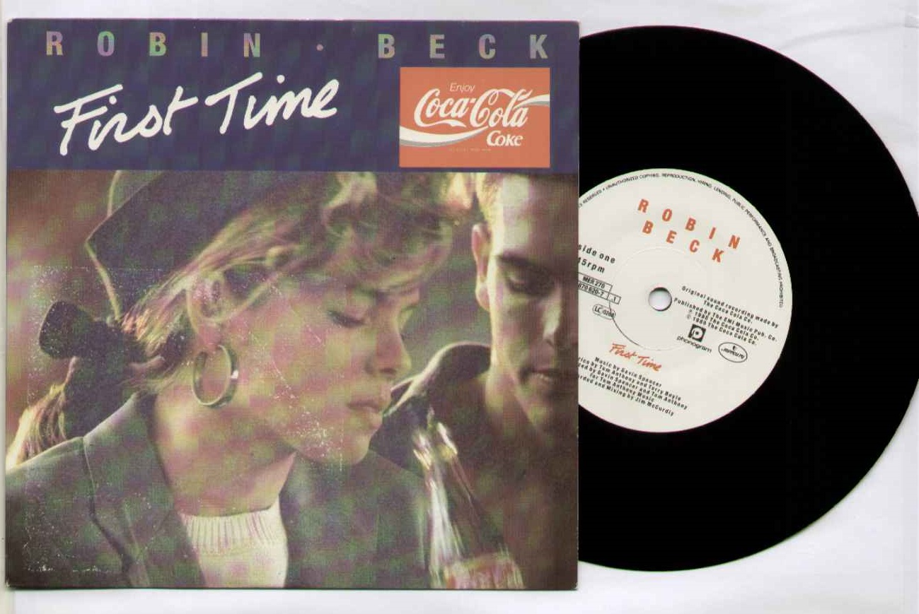 Robin Beck First+Time 7''