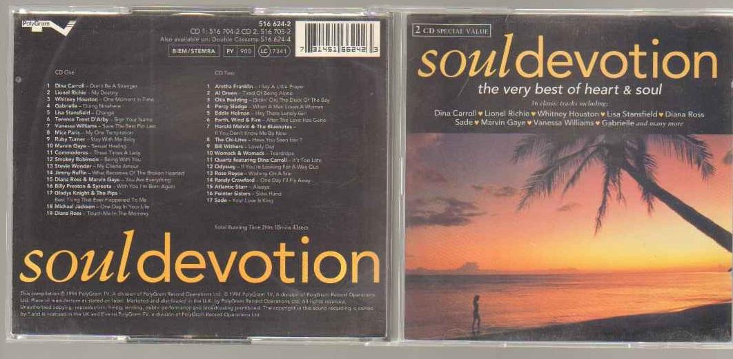 SOUL DEVOTION - SOUL COMILATION - Soul Devotion - Soul Compilation