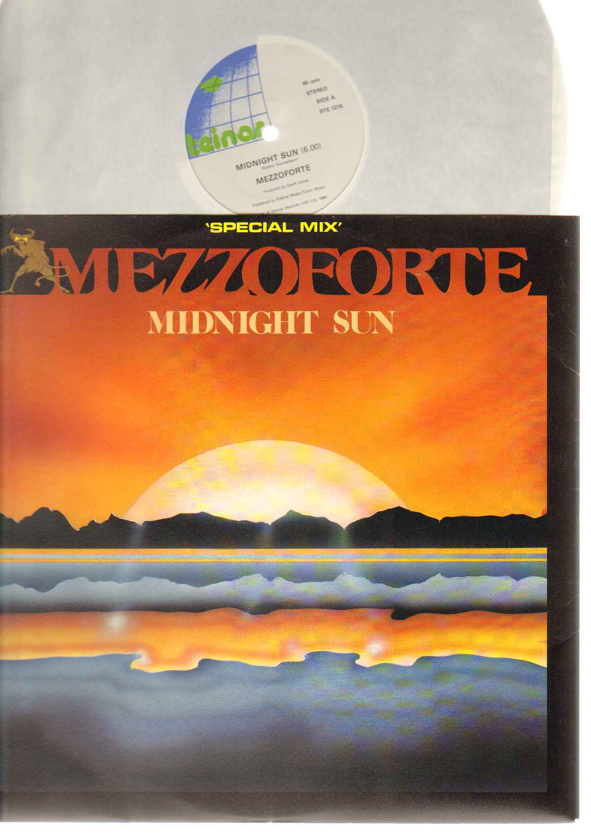 Mezzoforte - Midnight Sun Record