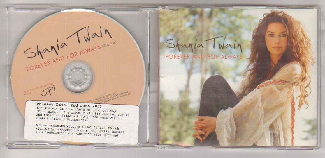 Shania Twain Forever And For Always Records Lps Vinyl