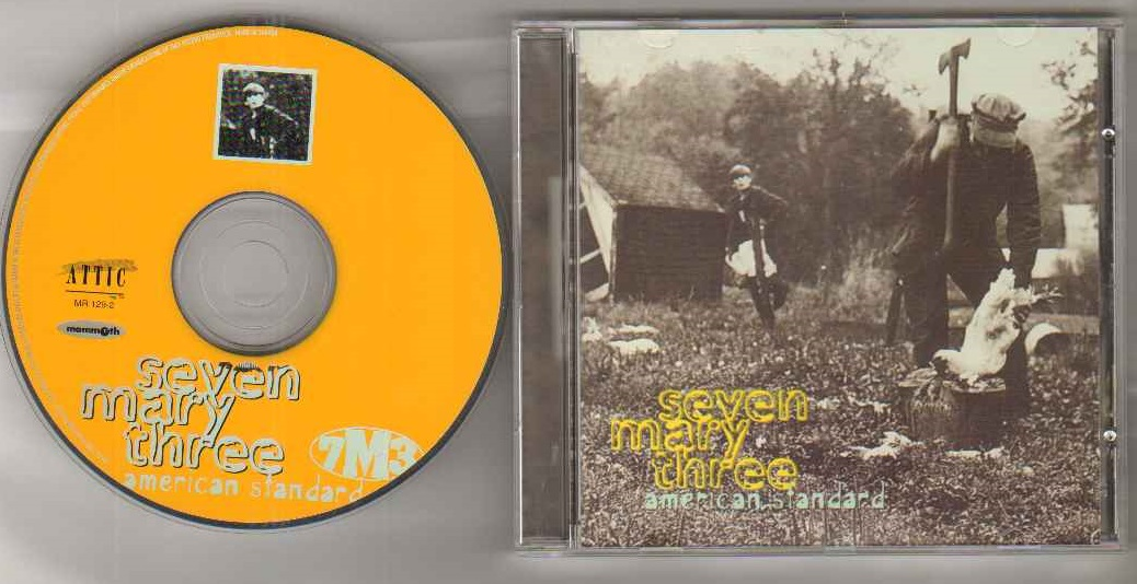 Seven Mary Three American Standard Records Vinyl And Cds