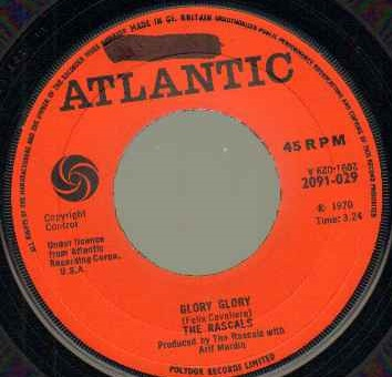 RASCALS - Glory Glory