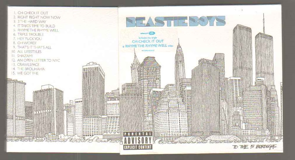 Beastie Boys - To The 5 Boroughs Album