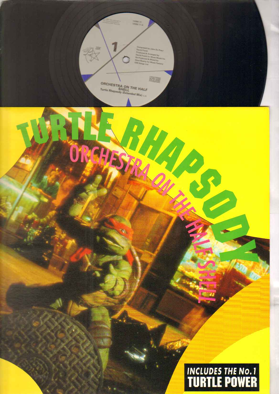 ORCHESTRA ON THE HALF SHELL - TURTLE RHAPSODY - 12 inch 45 rpm
