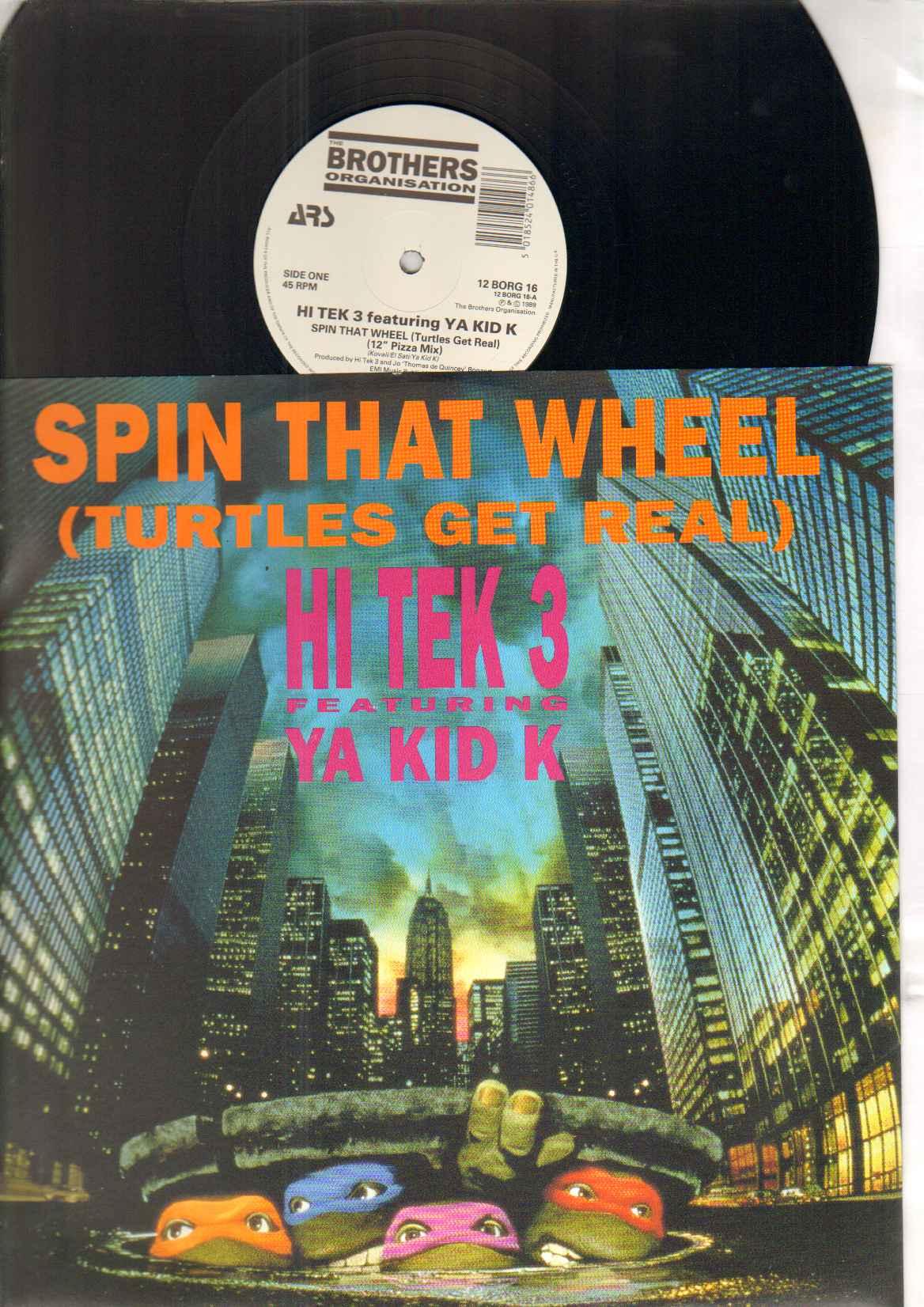 HI TEK 3 - SPIN THAT WHEEL - 12 inch 45 rpm