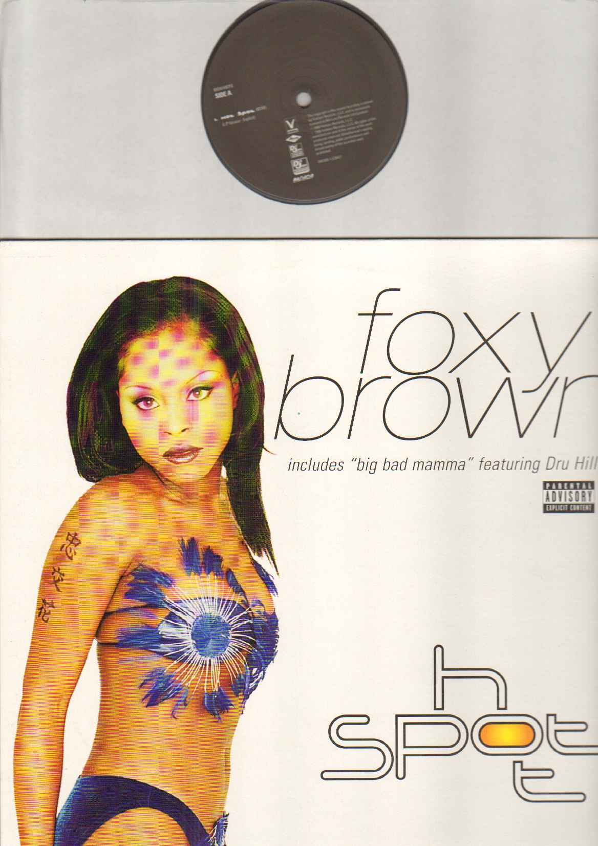 FOXY BROWN - HOT SPOT - Maxi 45T