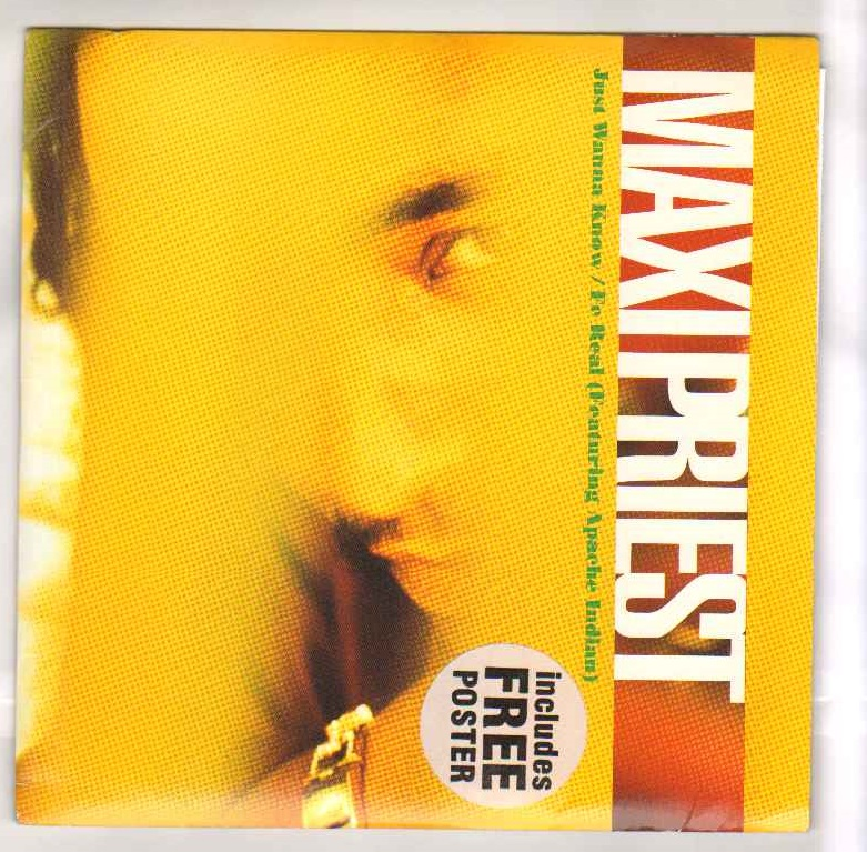 MAXI PRIEST - JUST WANNA KNOW - 7inch (SP)