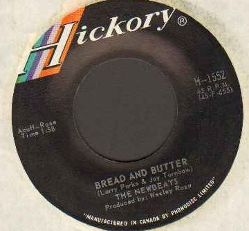 BREAD AND BUTTER b/w GROOVIN