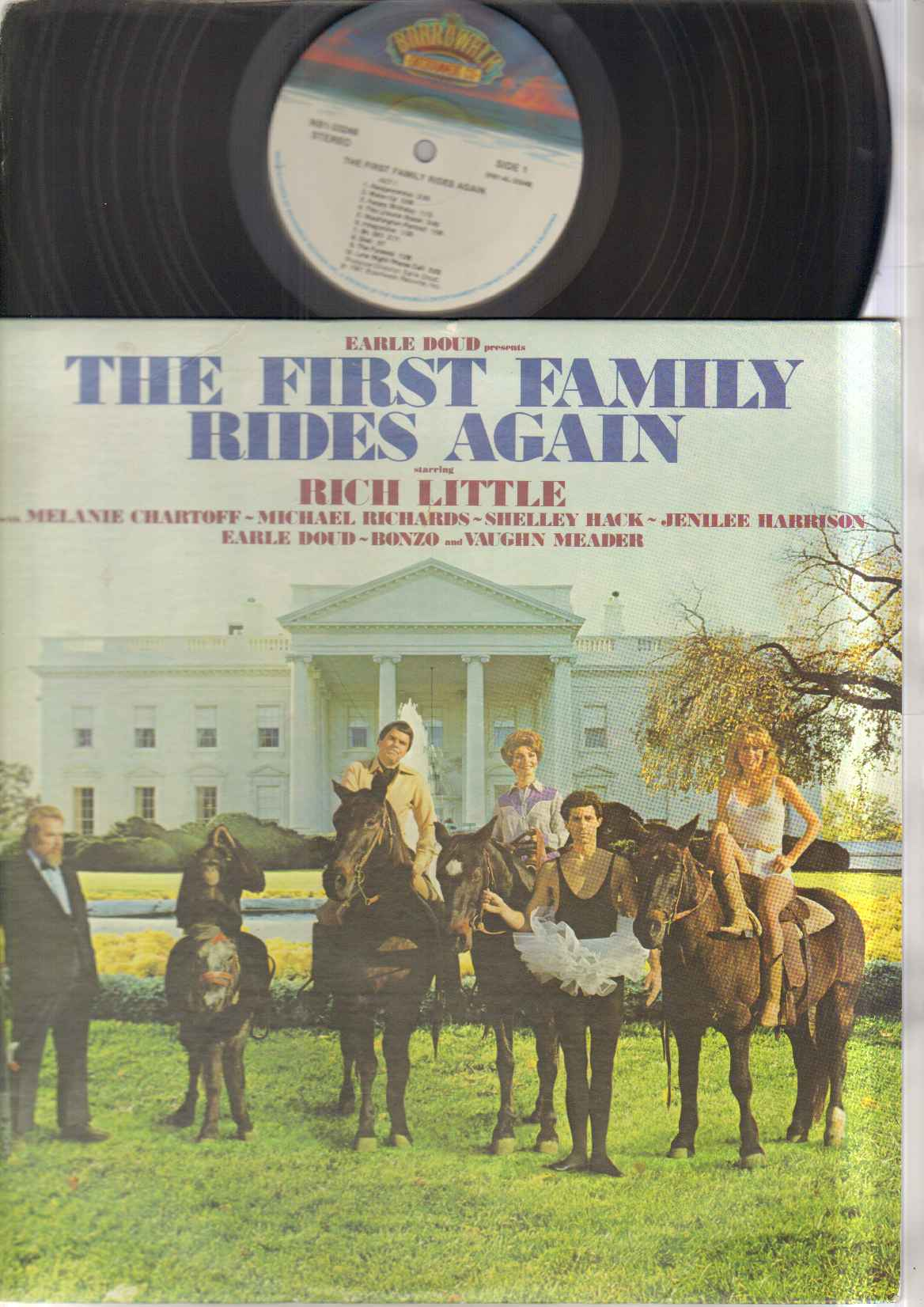 FIRST FAMILY RIDES AGAIN