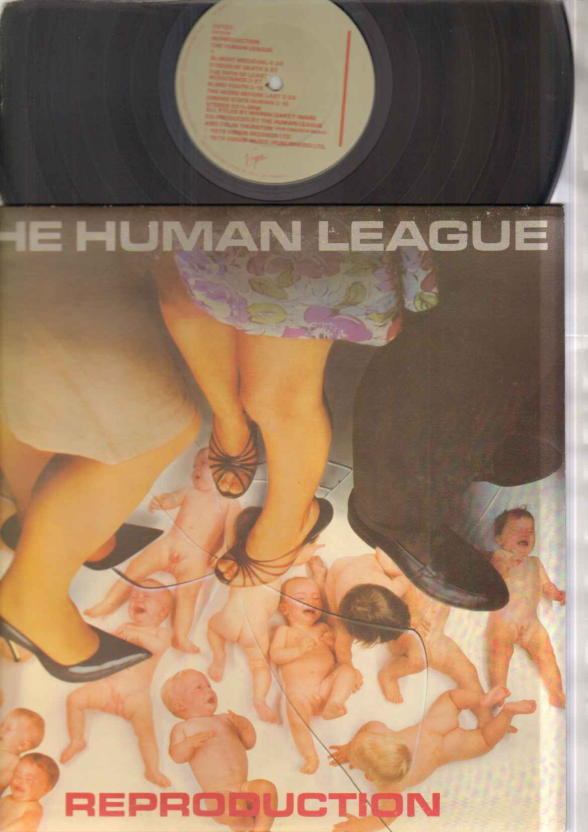 HUMAN LEAGUE - Reproduction LP