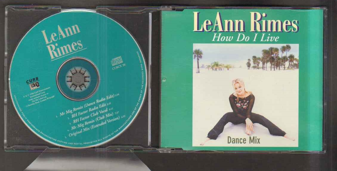 Leann Rimes How Do I Records Lps Vinyl And Cds Musicstack