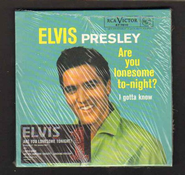 Elvis Presley - Are You Lonesome Tonight - Numberd Cd Single