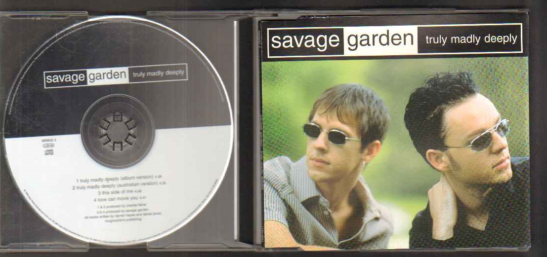 savage garden truly madly deeply srinconfghanen�s blog