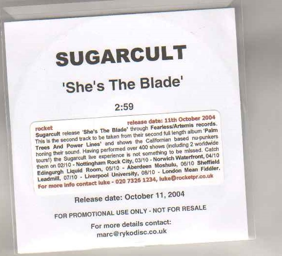 SHE'S THE BLADE
