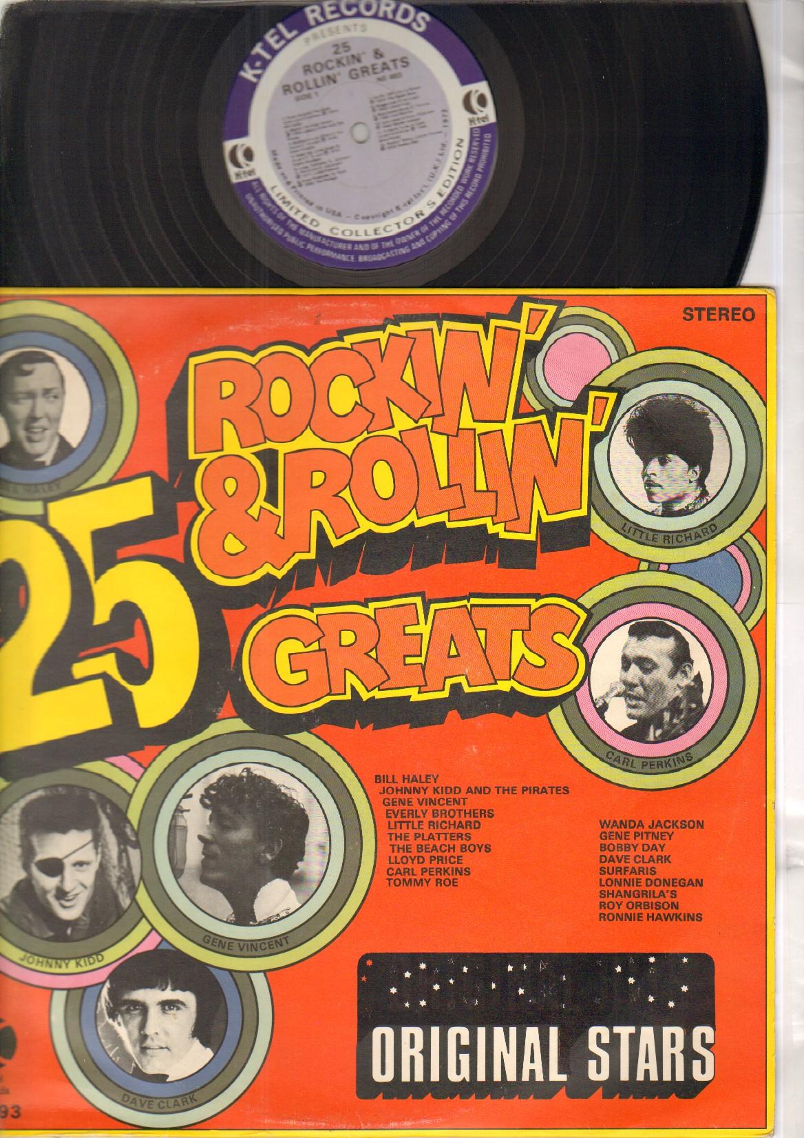 25 ROCKIN & ROLLIN GREATS