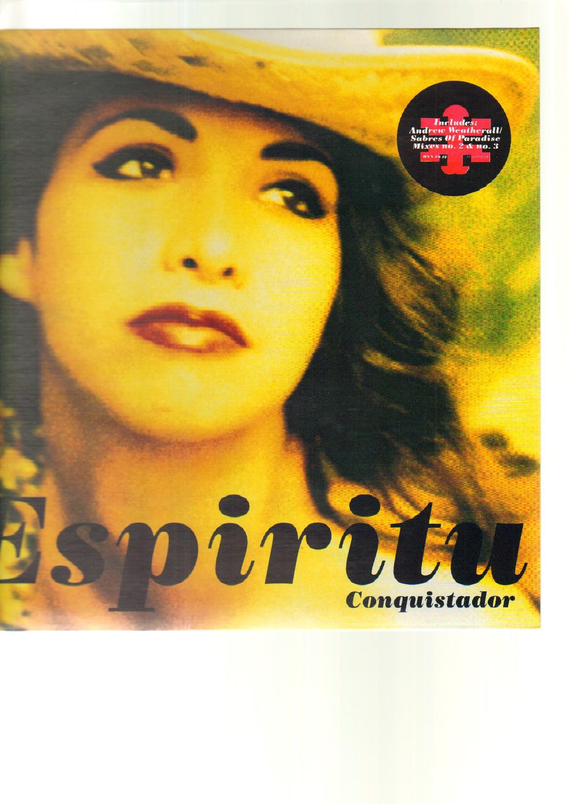 ESPIRITU - CONQUISTADOR - 12 inch 45 rpm