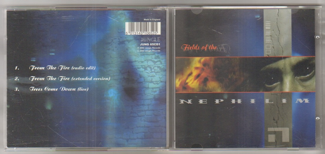 FROM THE FIRE - cd single CD1